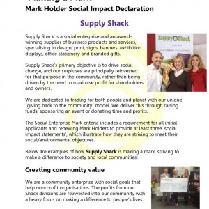 thumbnail of Social Impact Declaration Supply Shack
